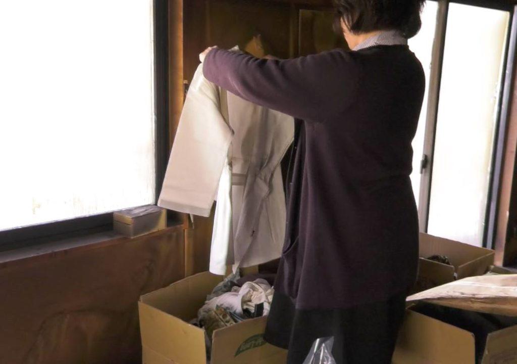 高野英夫先生の白衣