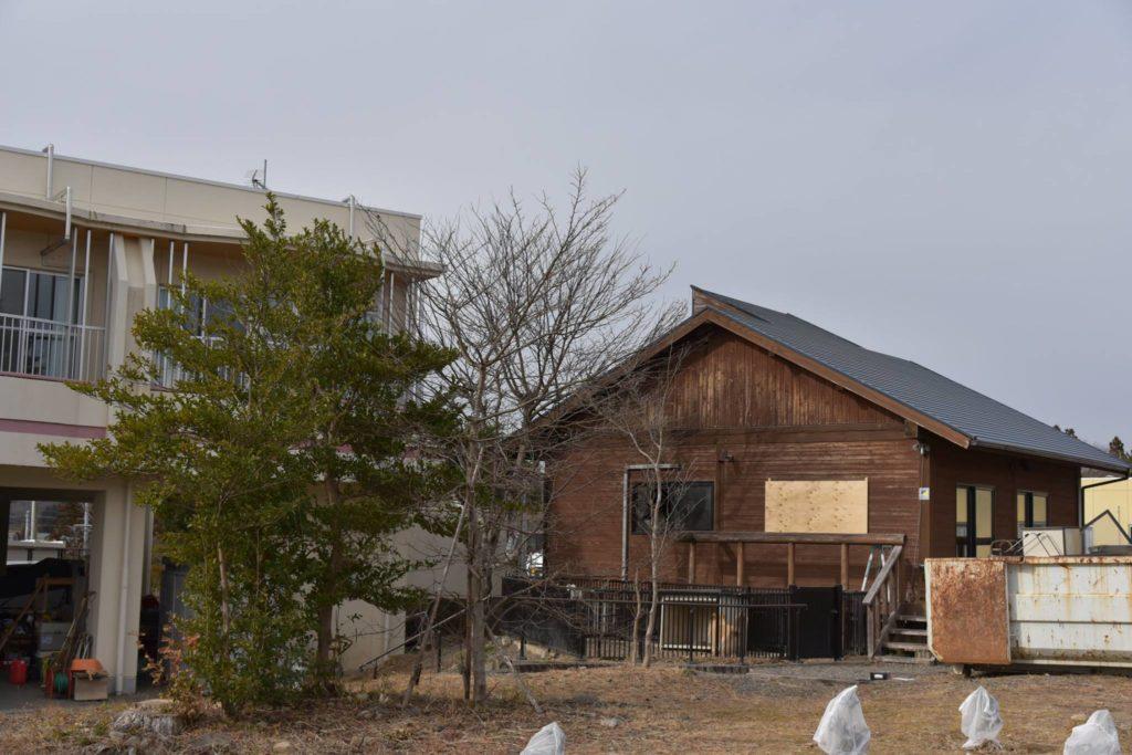 高野英夫先生が住んでいたログハウス