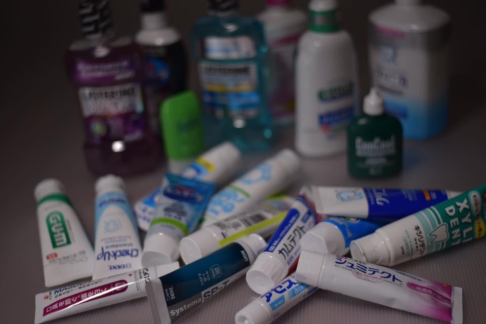 様々な歯科のセルフケアグッズ