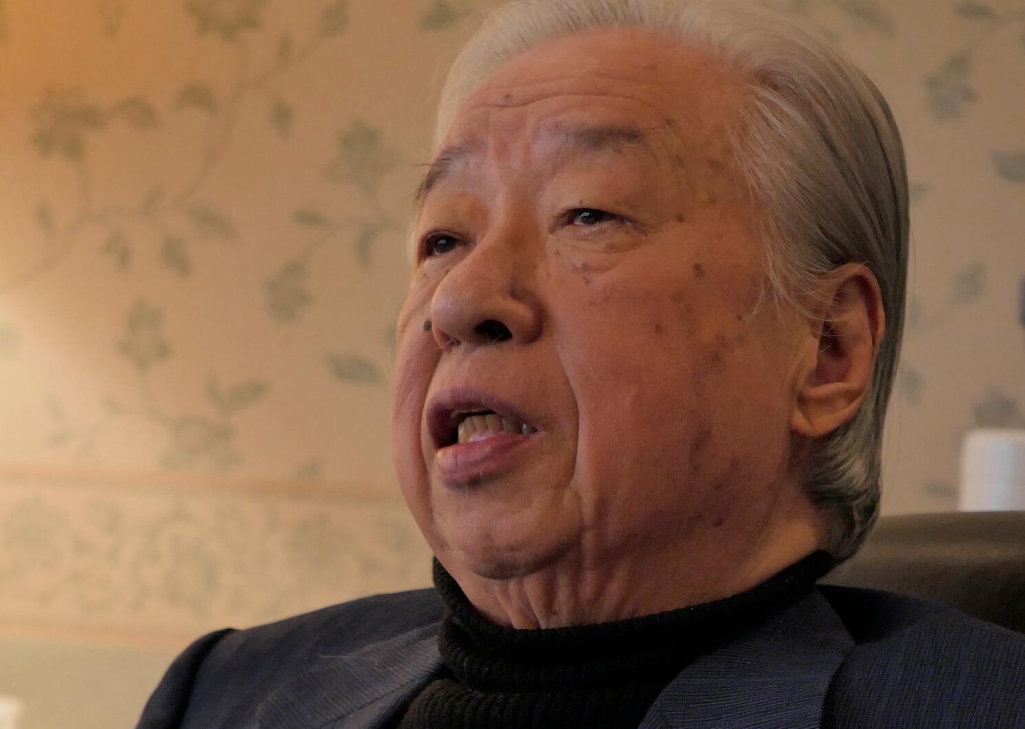 川村泰雄先生
