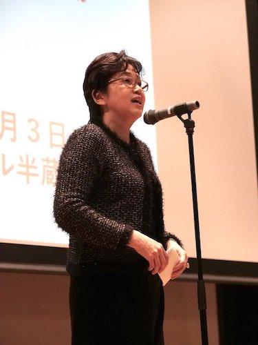 山口美智子さんは、この運動を全力で牽引してきた